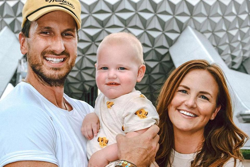 """<p>Russell Dickerson and wife Kailey's son <a href=""""https://people.com/parents/russell-dickerson-welcomes-son-remington-edward/"""" rel=""""nofollow noopener"""" target=""""_blank"""" data-ylk=""""slk:Remington Edward"""" class=""""link rapid-noclick-resp"""">Remington Edward</a> turned 1 on Sept. 10.</p>"""