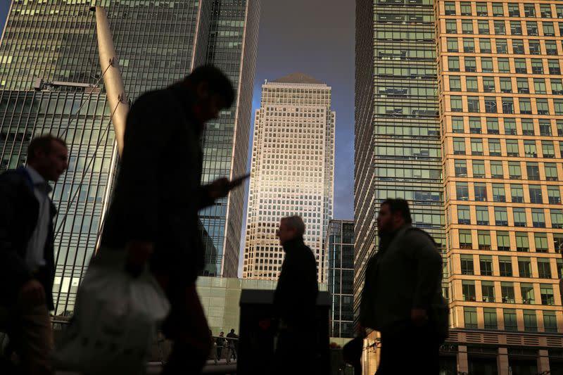 Facing Brexit unknowns, UK financial sector pays record taxes