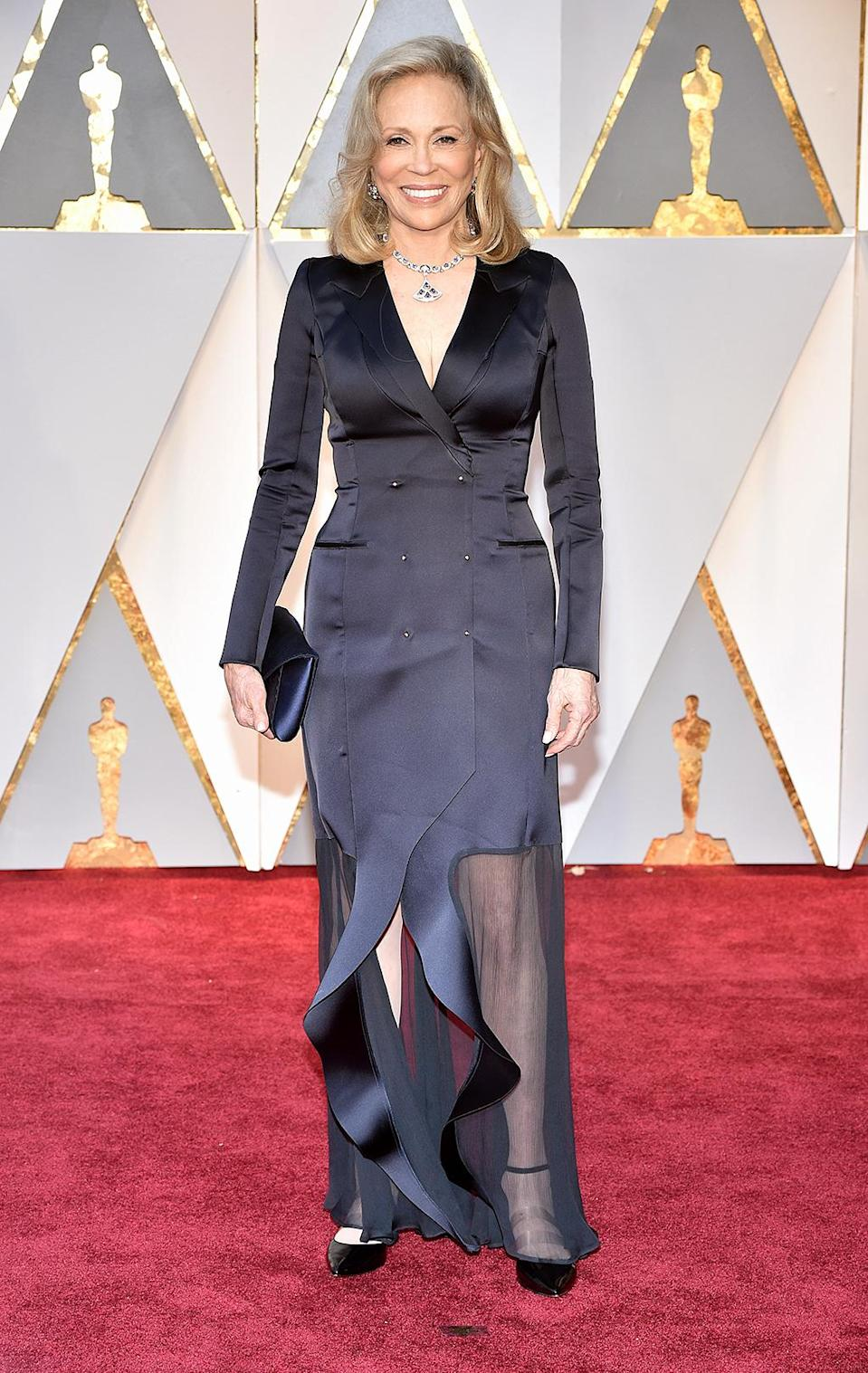 <p>Faye Dunaway attends the 89th Annual Academy Awards at Hollywood & Highland Center on Feb. 26, 2017. (Photo by Kevin Mazur/Getty Images) </p>