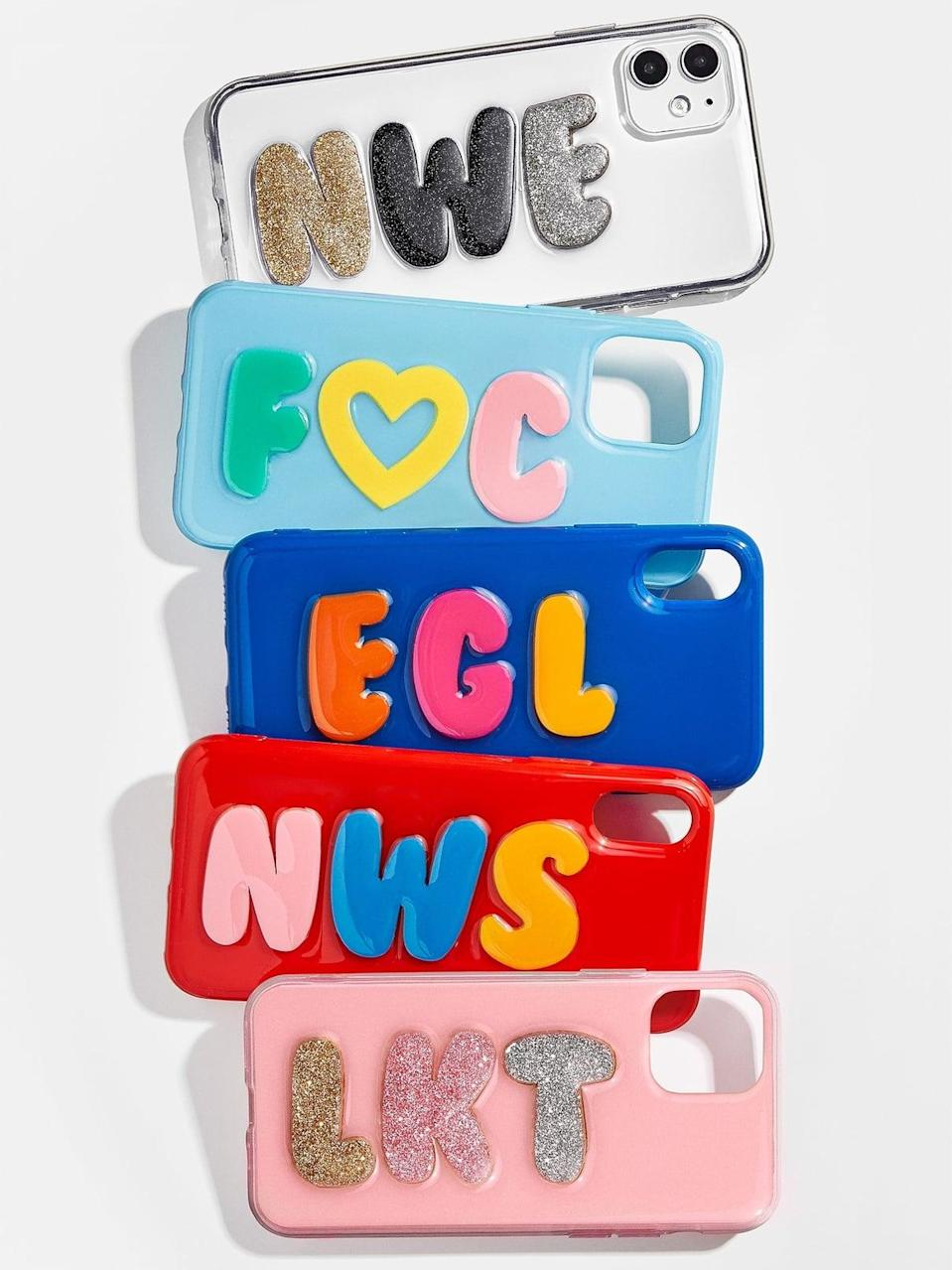 <p>This customizable <span>BaubleBar Bubbly iPhone Case</span> ($68) is adorable.</p>