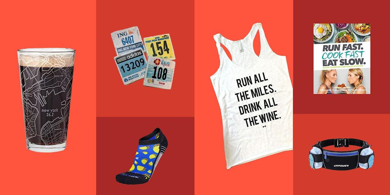 <p>Runners are a special breed...whether you're shopping for a first time marathoner or a pound-the-pavement-every-day kind of jogger, give 'em a gift they'll love this holiday season.</p>