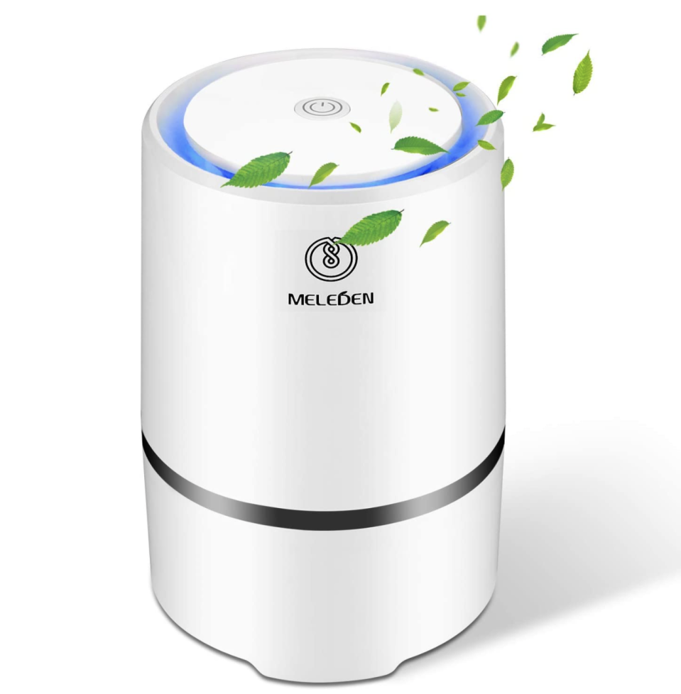 Can you believe this air purifier is just $25? (Photo: Amazon)