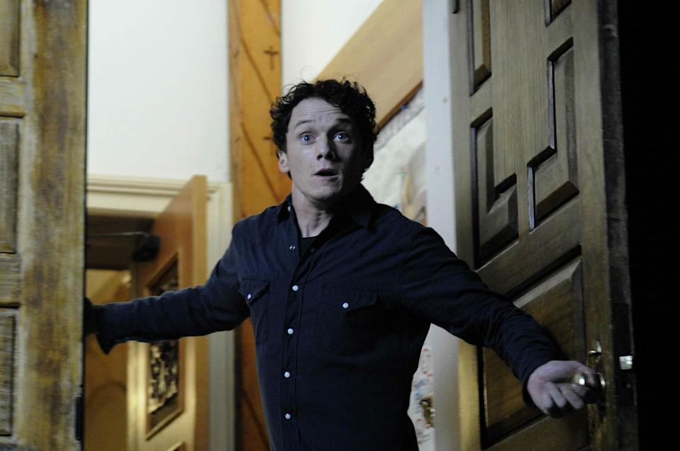 Anton Yelchin as the titular Odd Thomas (credit: Fusion Films)