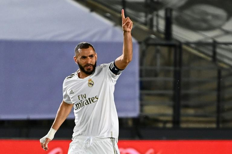Karim Benzema scored his 23rd goal of the season as Real Madrid beat Alaves 2-0 on Friday