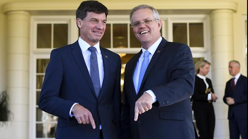 Prime Minister Scott Morrison says Angus Taylor is the right minister to bring energy prices down