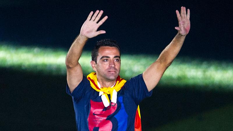 Ex-Barcelona star Xavi meets with club about manager job