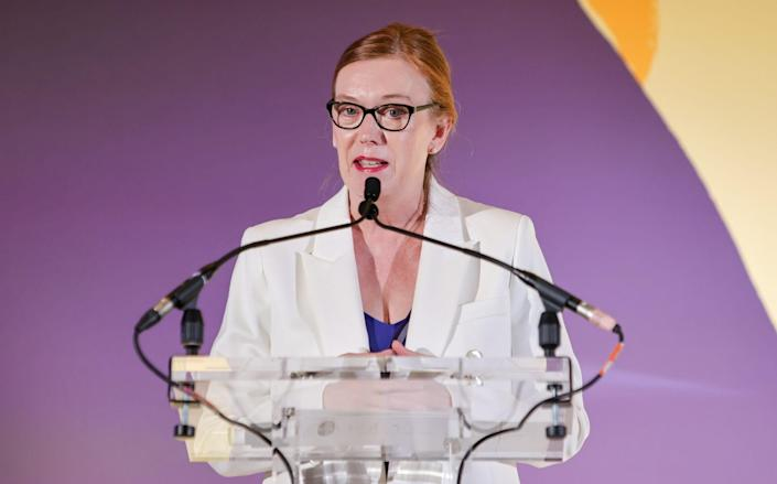 Dame Sarah Gilbert said Covid-19 will eventually become like other seasonal coronaviruses which cause the common cold - David M. Benett/Dave Benett/Getty Images for Veuve Clicquot