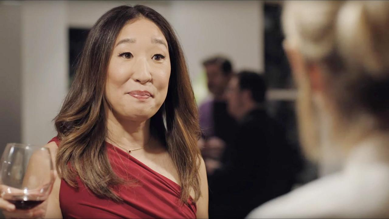 "<p>Similar to <strong>Dead to Me</strong>, <strong>Catfight </strong>pinpoints the tensions in female friendships. The film underlines the twisted relationship between two college friends, Veronica (<a class=""sugar-inline-link ga-track"" title=""Latest photos and news for Sandra Oh"" href=""https://www.popsugar.com/Sandra-Oh"" target=""_blank"" data-ga-category=""Related"" data-ga-label=""https://www.popsugar.com/Sandra-Oh"" data-ga-action=""&lt;-related-&gt; Links"">Sandra Oh</a>), a wealthy housewife, and Ashley (Anne Heche), a struggling artist. After a particularly violent fight, things turn a 180 for these two women. </p> <p><a href=""https://www.popsugar.com/buy?url=http%3A%2F%2Fwww.netflix.com%2Ftitle%2F80144804&p_name=Watch%20%3Cstrong%3ECatfight%20%3C%2Fstrong%3Eon%20Netflix.&retailer=netflix.com&evar1=buzz%3Aus&evar9=47470288&evar98=https%3A%2F%2Fwww.popsugar.com%2Fentertainment%2Fphoto-gallery%2F47470288%2Fimage%2F47470299%2FCatfight&prop13=mobile&pdata=1"" rel=""nofollow"" data-shoppable-link=""1"" target=""_blank"" class=""ga-track"" data-ga-category=""Related"" data-ga-label=""http://www.netflix.com/title/80144804"" data-ga-action=""In-Line Links"">Watch <strong>Catfight </strong>on Netflix.</a></p>"