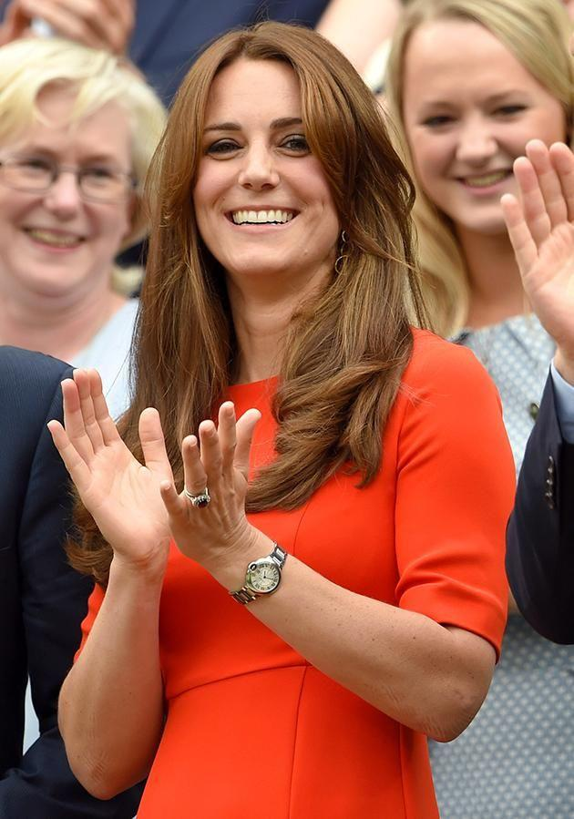 The Duchess is a regular on the tennis scene.