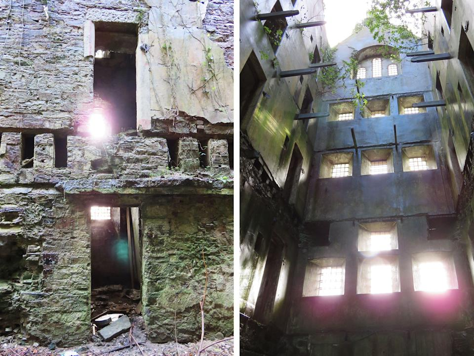 Abandoned Light Diptych - Bodmin Jail Hotel Ruins