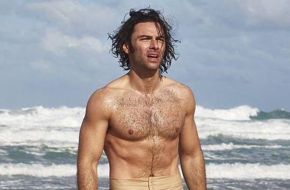 Aidan Turner in Poldark (BBC)