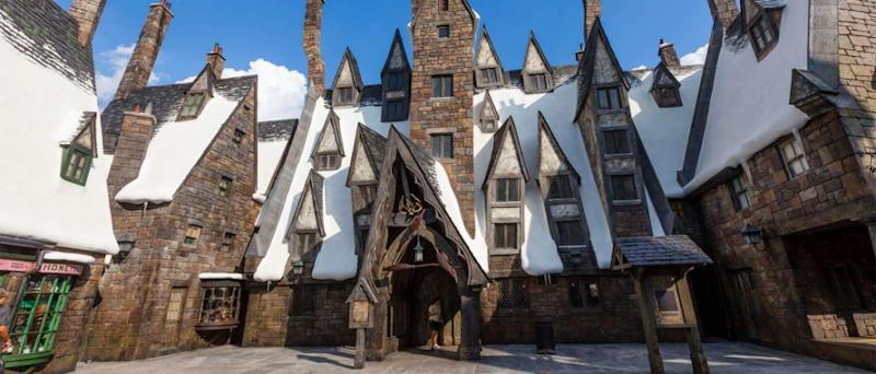 The place to be: The Three Broomsticks. Photo: Universal