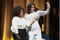 """<p>In an interview with Oprah Winfrey, former First Lady Michelle Obama <a href=""""https://obamawhitehouse.archives.gov/the-press-office/2016/06/14/remarks-first-lady-and-oprah-winfrey-conversation-united-state-women"""" rel=""""nofollow noopener"""" target=""""_blank"""" data-ylk=""""slk:revealed this nugget"""" class=""""link rapid-noclick-resp"""">revealed this nugget</a>: """"In the White House you can't open a window. Sasha opened her window once — there were calls. 'Shut the window!' It never opened again.""""</p>"""