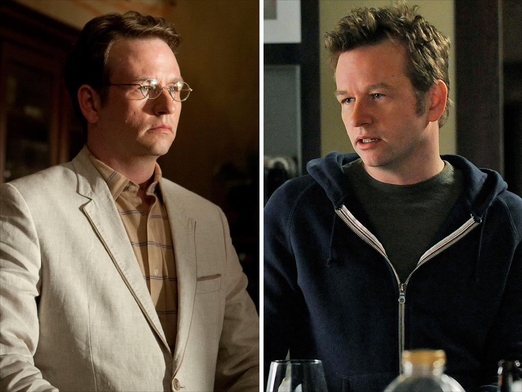 "<strong>Dallas Roberts<br />Shows:</strong> ""The Walking Dead,"" ""The Good Wife""<br /><br />Roberts is consigliere of two very different kinds on ""Walking Dead"" and ""Good Wife."" On the former, he's the bespectacled, intellectual researcher who supports the Governer; on the latter, he's the wine-swilling, straight-talking gay brother of Alicia. In both cases, he's a magnetic screen presence who turns up the intensity in any scene he's in."