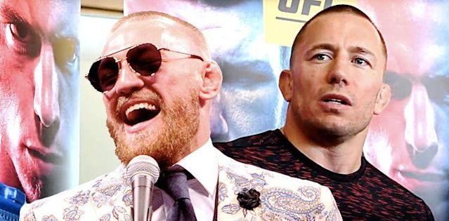 Georges St-Pierre Fighting for Legacy, Insists Conor McGregor Doesn't Fit the Bill