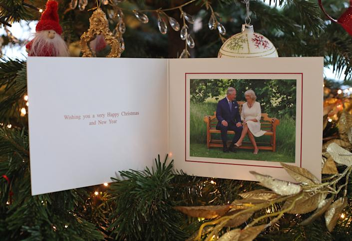 Prince Charles and Camilla 2018 Christmas Card