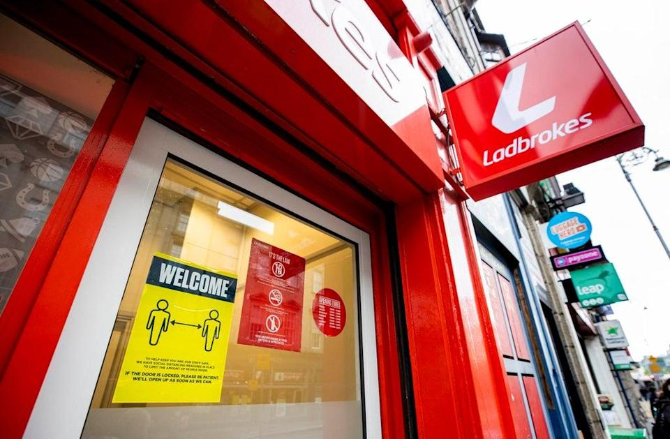 Ladbrokes's owner is understood to be facing a bid from US rival Draftkings (Liam McBurney/PA) (PA Archive)