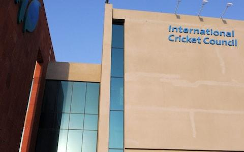 The headquarters of the ICC in Dubai - Credit: AAMIR QURESHI/AFP/Getty Images)
