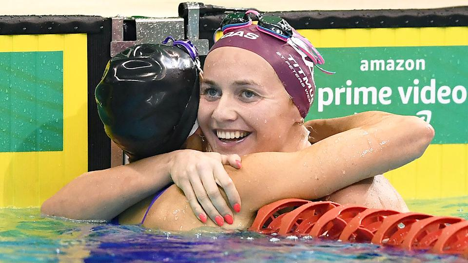 Ariarne Titmus goes into Tokyo with the second-fastest time in history in the women's 200m freestyle. Pic: Getty