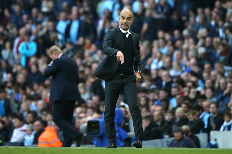 Pep Guardiola paid the price for believing there is no point in practising penalties (AFP Photo/Scott Heppell)