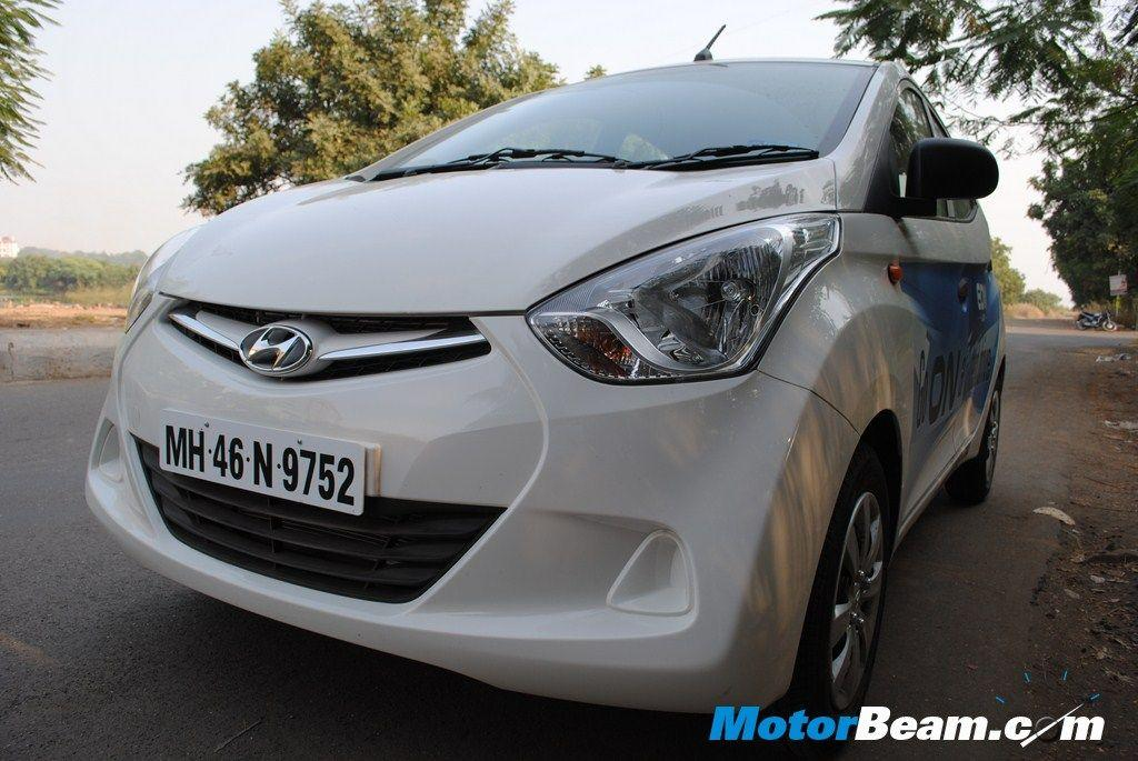 Sales of the Hyundai Eon increased marginally in August 2012 to 5418 units.