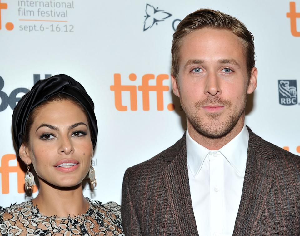 Eva Mendes and Ryan Gosling are married and share two young daughters. (Photo: Getty Images)