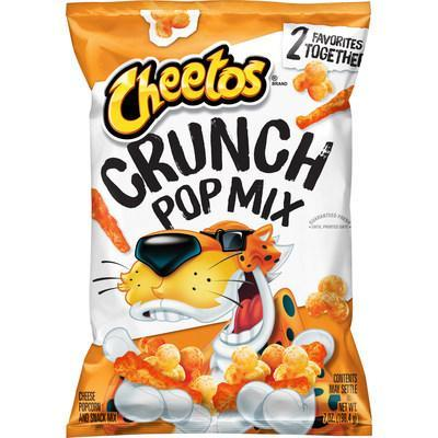 Upending the Traditional Snack Mix, New Cheetos® Crunch Pop Mix Blends Two Fan Favorites