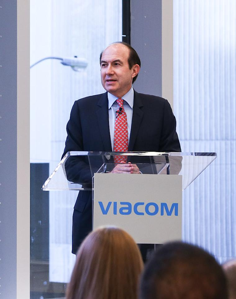 <p>No. 8: Former CEO Philippe P. Dauman<br />Company: Viacom Inc.<br />Compensation: $87,841,249 <br />(Photo by Anna Webber/Getty Images for New York Magazine) </p>