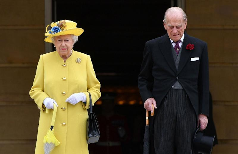 Britain's Prince Philip, the 96-year-old husband of Queen Elizabeth II, has been a constant and mischievous presence at thousands of official royal functions (AFP Photo/Dominic Lipinski)