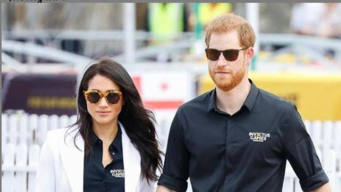 Pangeran Harry dan Meghan Markle. (dok.Instagram @meghanmarklesource/https://www.instagram.com/p/CNVNkFCH8Cj/Henry)