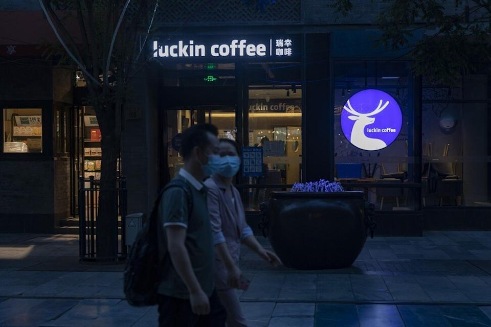 """Luckin said its reconstituted board is committed to """"strong internal financial controls"""" after settling with the SEC. PHOTO: Bloomberg"""