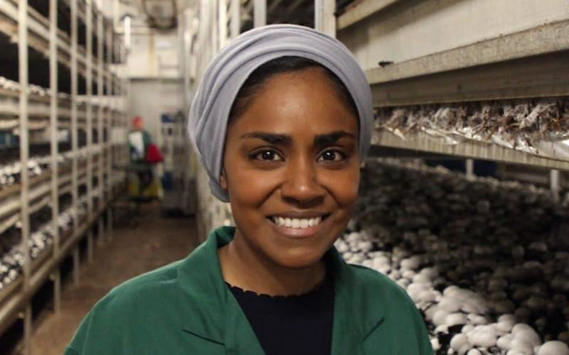 Nadiya Hussain in her latest BBC series Time to Eat - 1