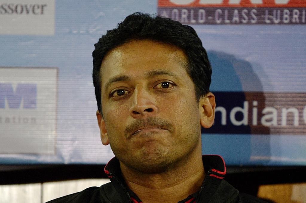 Indian Founder and Managing Director of The International Premier Tennis League Mahesh Bhupathi says stars Roger Federer and Serena Williams have both pulled out of an exhibition tournament (AFP Photo/Chandan Khanna)