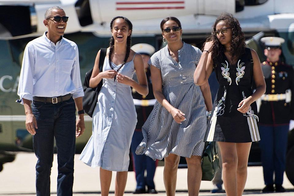 Barack Obama Weighs in on the 'Multiple Badass Qualities' of Michelle, Malia and Sasha
