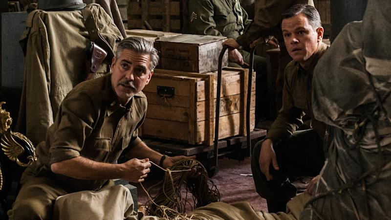 George Clooney and Matt Damon in 'The Monuments Men'