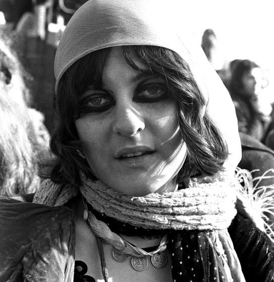 """Miss Mercy photographed at the Altamont Speedway on Dec. 6, 1969, in Livermore, Calif. <span class=""""copyright"""">(Robert Altman / Getty Images)</span>"""