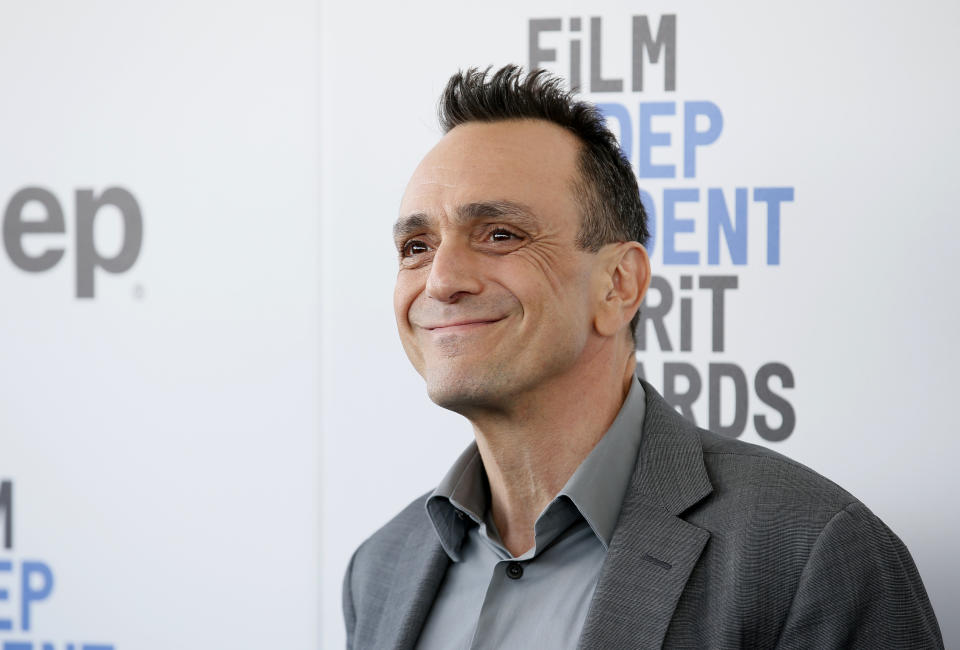 Actor Hank Azaria arrives at the 2017 Film Independent Spirit Awards in Santa Monica, California, U.S., February 25, 2017. REUTERS/Danny Moloshok