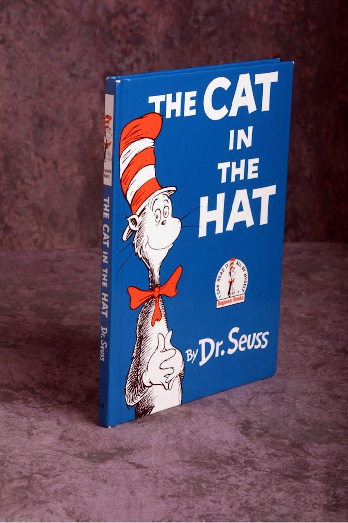 """""""The Cat in the Hat"""" by Dr. Seuss."""