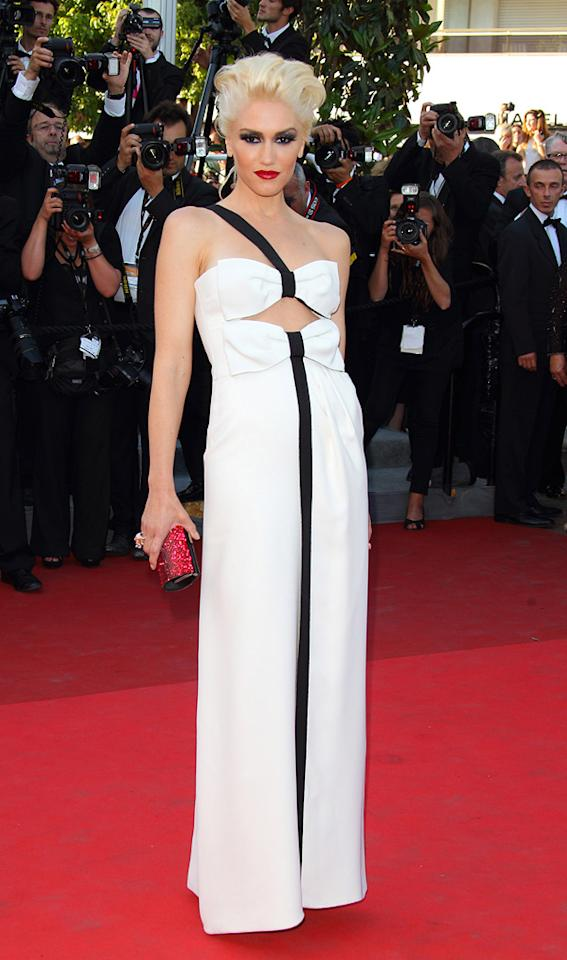 """<a href=""""http://movies.yahoo.com/movie/contributor/1804486111"""">Gwen Stefani</a> attends the 64th Annual Cannes Film Festival premiere of """"This Must Be The Place"""" on May 20, 2011."""