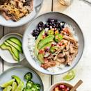<p>In Cuba, lechon asado (roast pork) is marinated in mojo, a citrus-herb sauce. In this Instant-Pot pork recipe, the pressure cooker infuses similar flavor into pork shoulder. No pressure cooker? Braise the meat in a large pot in a 300 degrees F oven for 4 to 5 hours.</p>