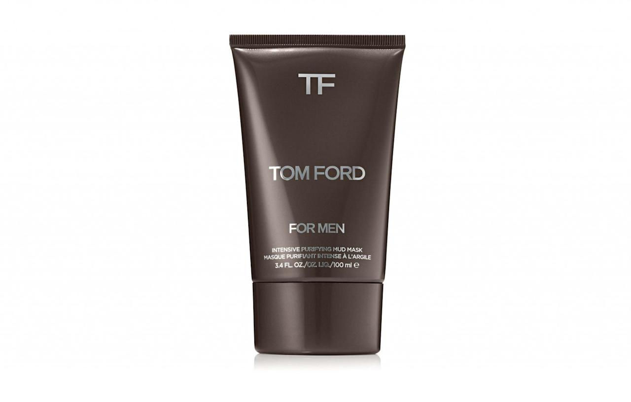 "<p><a rel=""nofollow"" href=""https://www.houseoffraser.co.uk/beauty/tom-ford-intensive-purifying-mud-mask-for-men-100ml/192054101.pd"">House of Fraser, £46</a> </p>"