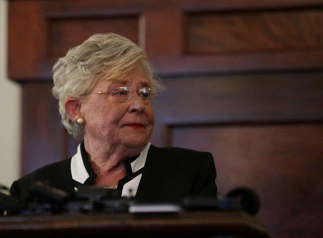 Alabama Gov. Kay Ivey (R), who was vaccinated in December, threw some shade at Fox News and other right-wing media outlets for providing misinformation about the coronavirus vaccines. (Photo: Marvin Gentry via Reuters)