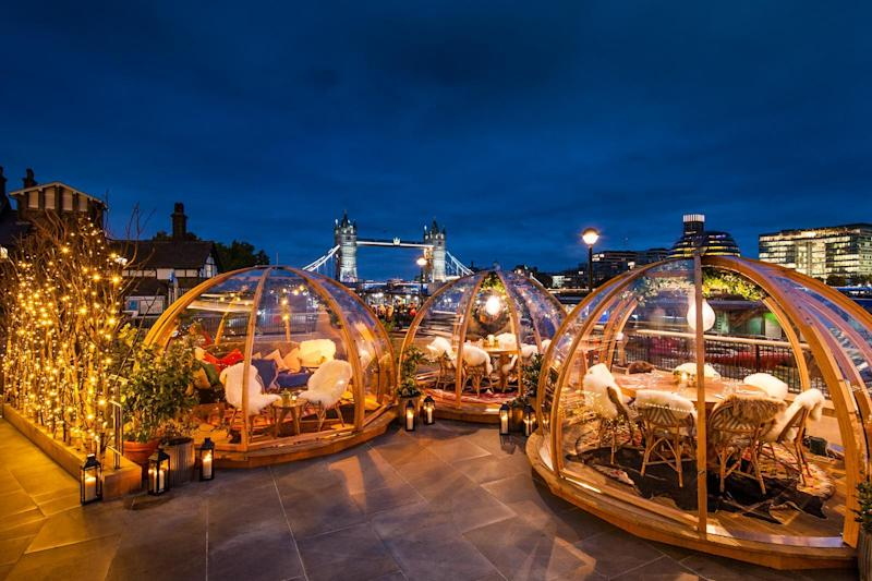 Winter sparkle: Here are London's best festive terraces