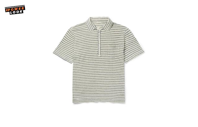"<p>""The M<span>assimo Alba is a Milan-based designer, and for when you're not at work, those polos are great. It's the best polo around."" <em>Guy Trebay</em></span><br>Massimo Alba Wembley Striped Linen Polo Shirt, <a href=""https://www.mrporter.com/en-us/mens/massimo_alba/wembley-striped-linen-polo-shirt/853658?ppv=2"" rel=""nofollow noopener"" target=""_blank"" data-ylk=""slk:$330"" class=""link rapid-noclick-resp"">$330</a><br><a href=""http://mrporter.com"" rel=""nofollow noopener"" target=""_blank"" data-ylk=""slk:mrporter.com"" class=""link rapid-noclick-resp"">mrporter.com</a> </p>"