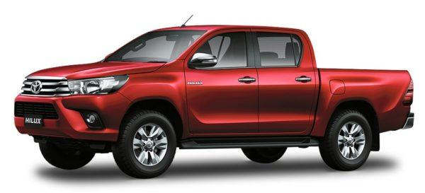 Cheapest Cars in the Philippines Under P1 Million - Toyota Hilux