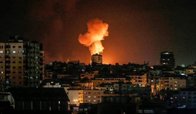 Israeli aircraft carried out strikes against Islamic Jihad targets across Gaza after the Palestinian militant group fired more than 80 rockets and mortar rounds at Israel in response to the killing of one of its fighters