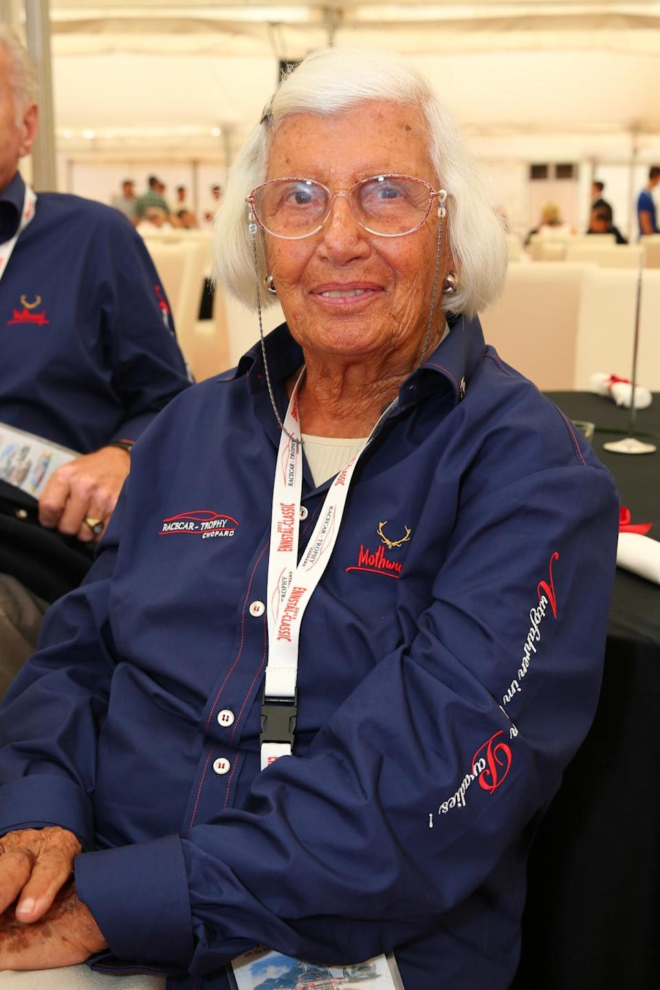 """<p>Maria was the first female Formula One driver and one of only two women to have ever qualified to make it to the starting grid. Her first race was the 1958 Belgian Grand Prix in which she finished 10th. The year after, she was banned from the French race after the director said: """"The only helmet that a woman should use is the one at the hairdressers."""" Although it took two decades for another woman to do the same thing, Maria paved the way for female race car drivers everywhere. <i>[Photo: Getty]</i> </p>"""