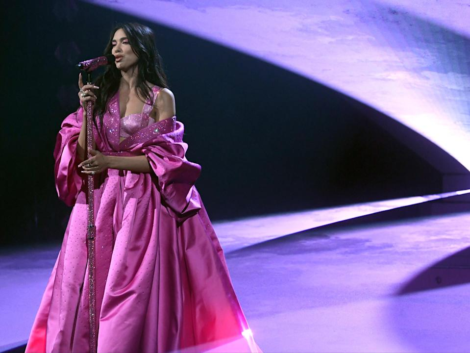 Dua Lipa will perform live at the Brit Awards ceremonyGetty/The Recording Academy