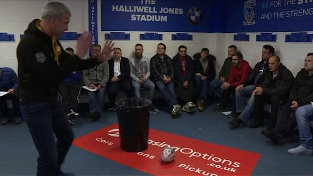 In England's northeast, a 'mental fitness' programme is harnessing the feelings of community amongst Rugby League fans and the language of sport to encourage men to talk about mental health issues. Male suicide is the single biggest killer of men under the age of 45 in the UK, and when Rugby League international Terry Newton committed suicide in 2010, a group of rugby-loving mental health practitioners launched an initiative to embolden men to seek help.