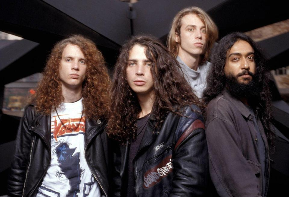 """<p>Formed in the 80s, this Seattle band had an audience but hit mainstream success with their 1994 album <em>Superunknown</em> with songs like """"Spoonman"""" and """"Black Hole Sun."""" They broke up in 1998, and Chris Cornell went on to join members of Rage Against the Machine to create Audioslave. </p>"""